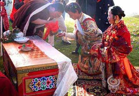 藏族的婚嫁习俗