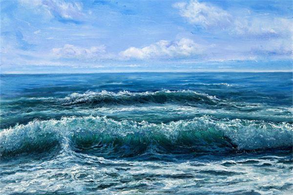做梦梦见大海海浪大的吓人