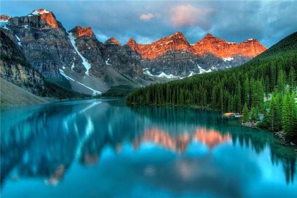 梦到景色很美的山