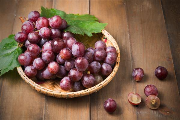 梦见吃葡萄是什么预兆