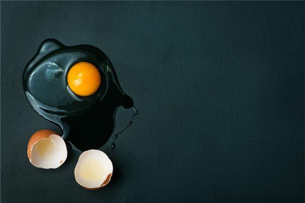 梦见鸡蛋破了
