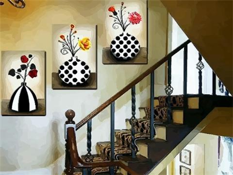 楼梯间挂画的风水 楼梯间挂什么画